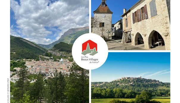 Trois nouveaux venus parmi Les Plus Beaux Villages de France !