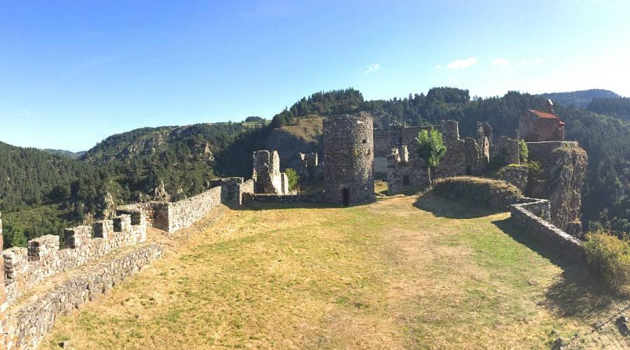 Site du château d'Arlempdes