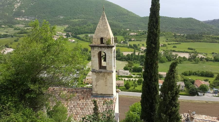 Eglise de Montbrun-les-Bains