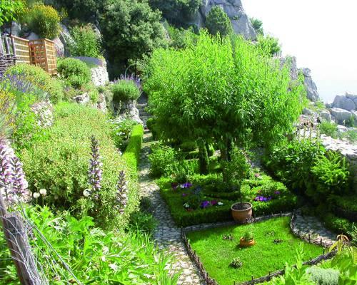 Site du château et jardin médiéval