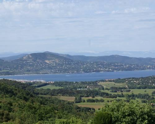 Panorama sur le golfe de Saint-Tropez
