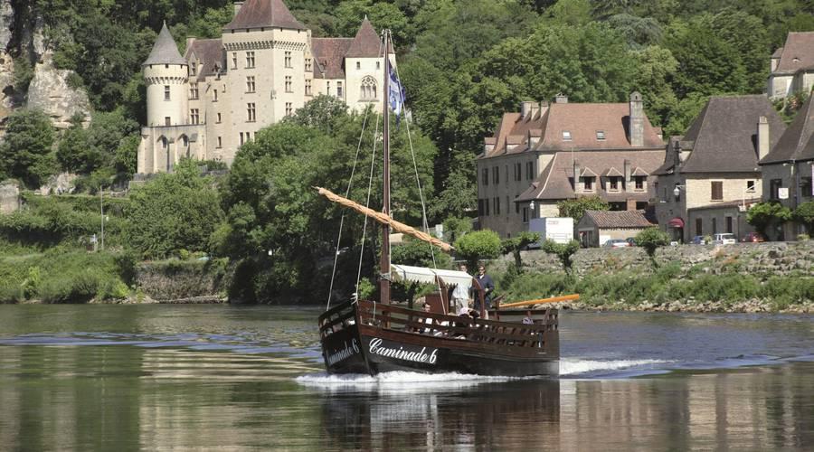 Croisière en gabarre sur la Dordogne